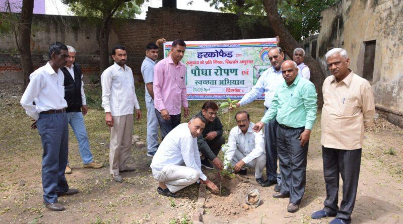 Plantation Programme at PARDB Mahendergardh